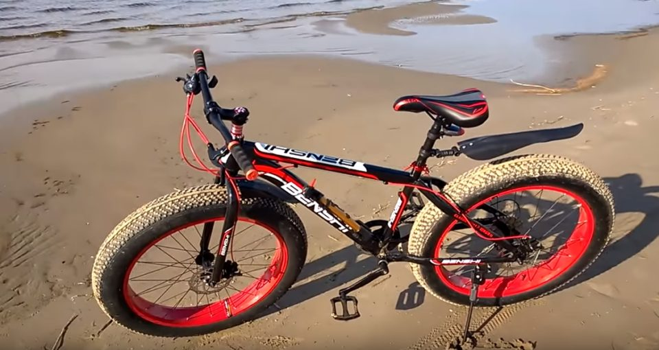 Толстый велосипед
