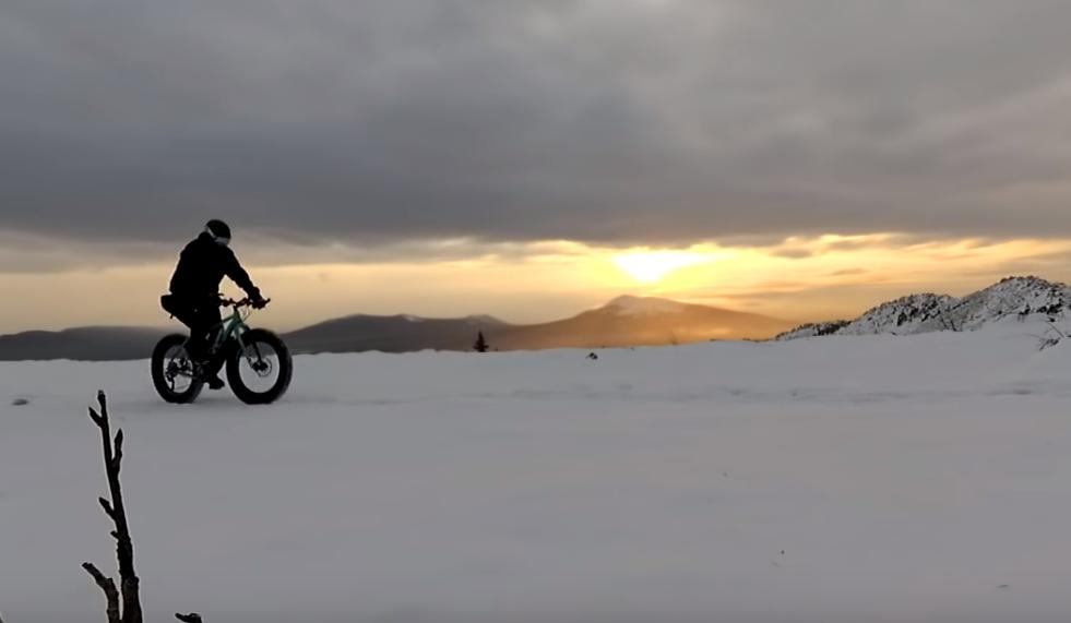 Фэтбайк зимой