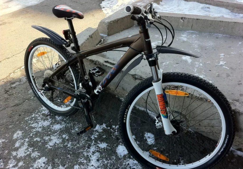 Горный велосипед с крыльями