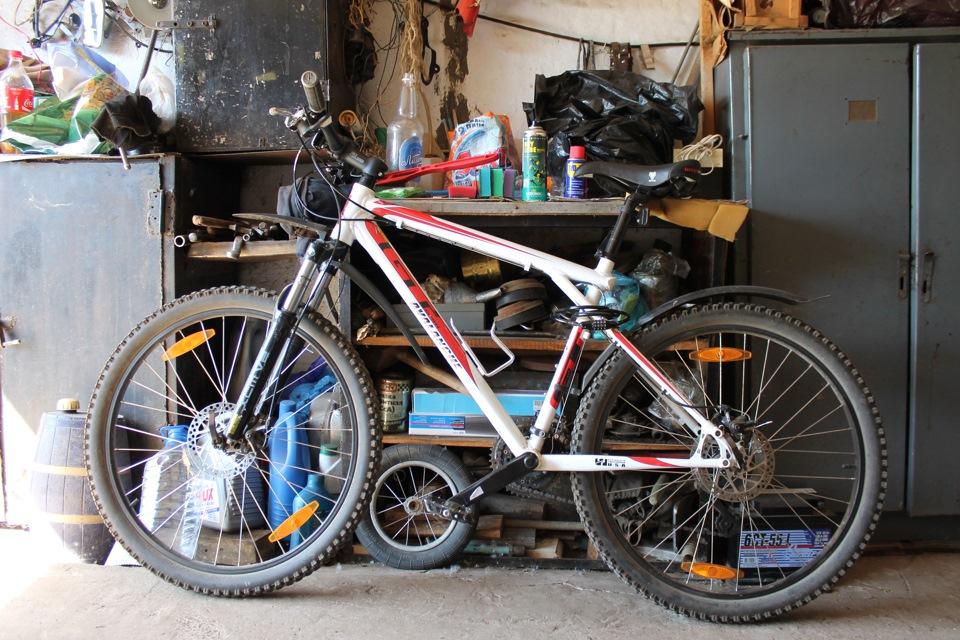 Подготовка велосипеда к катанию