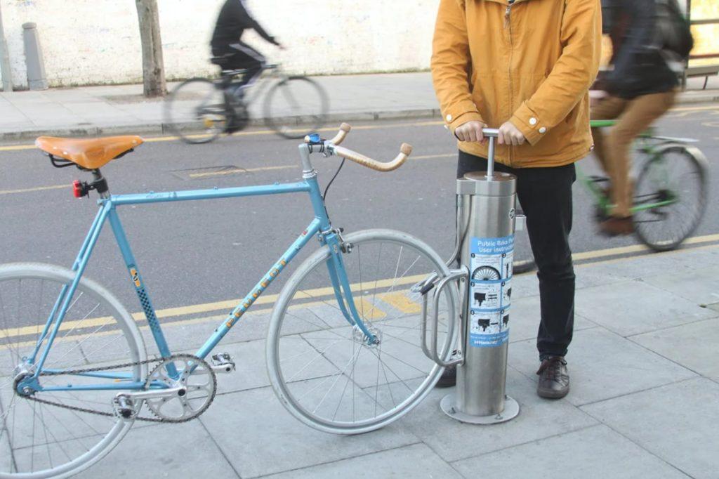 Стационарный велонасос