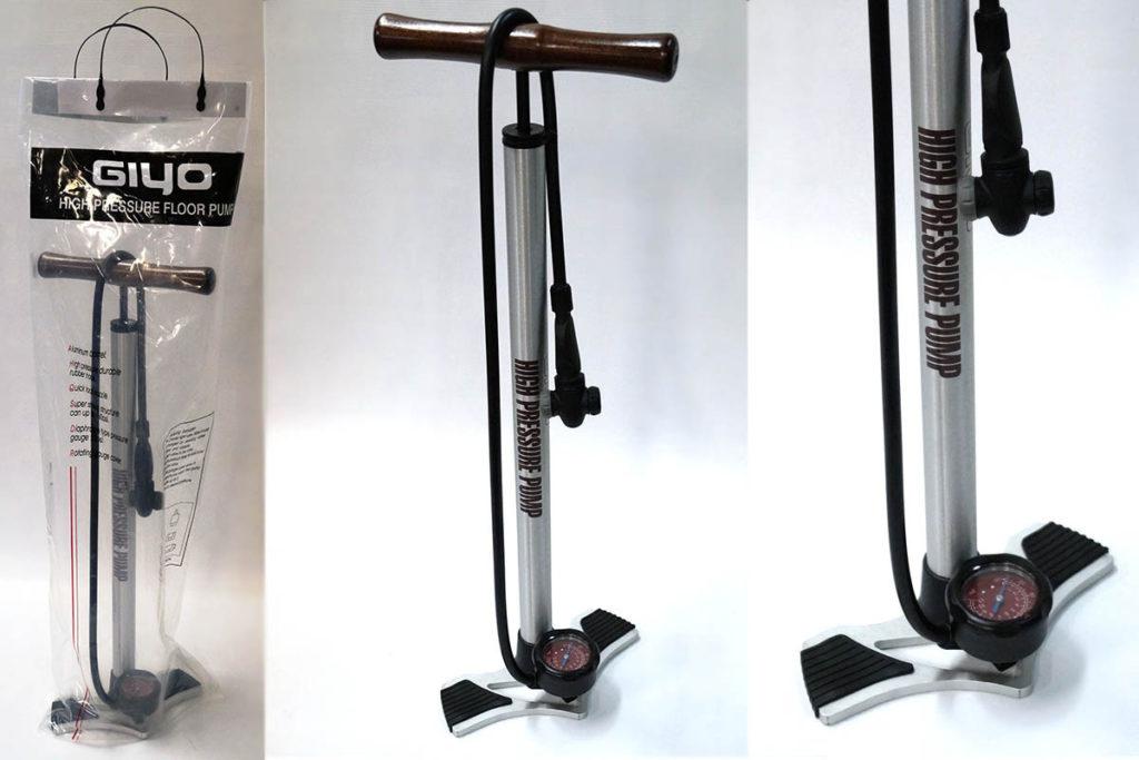 Напольный насос для велосипеда