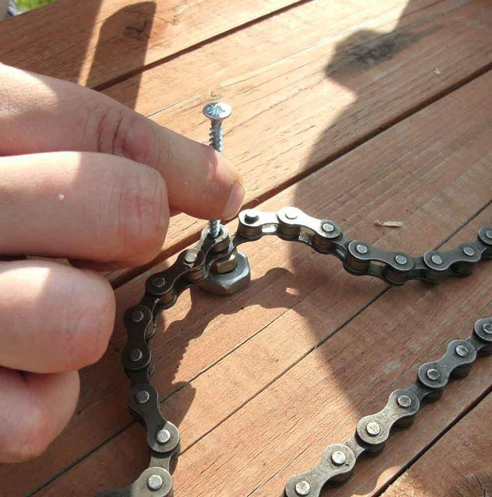 Разъединение цепи без выжимки