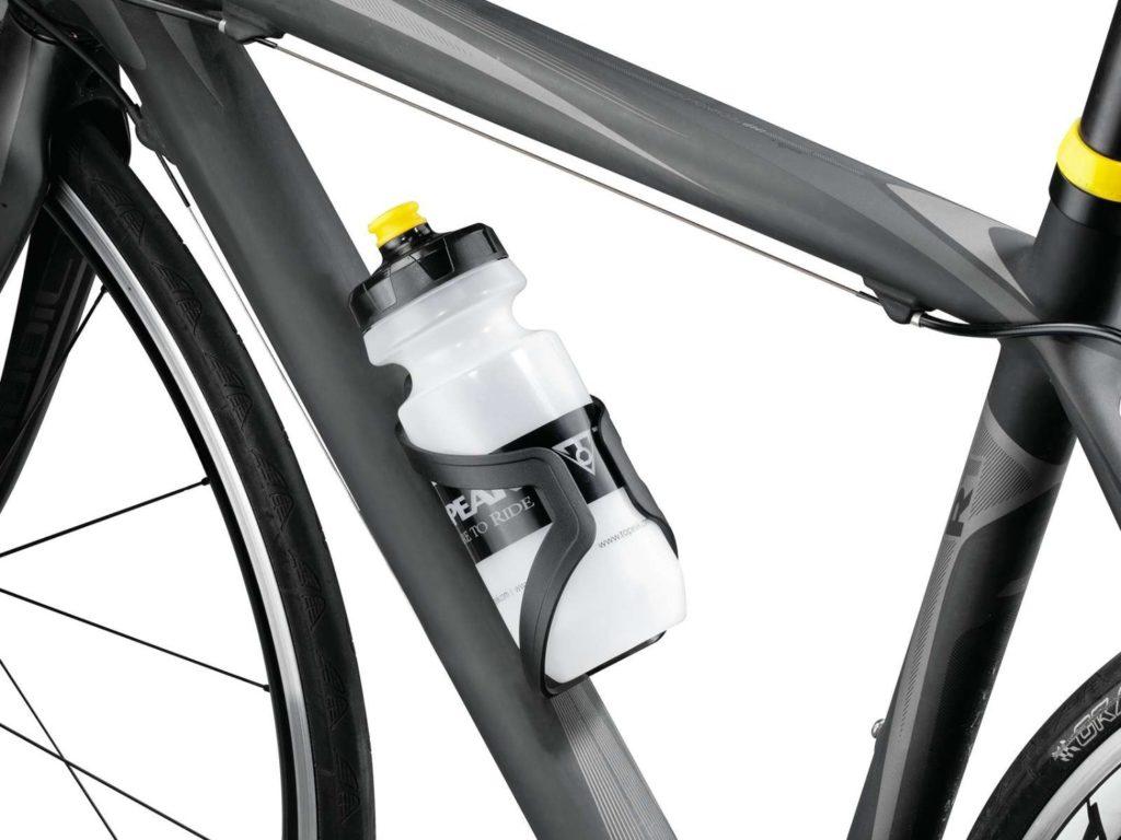 Держатель велофляги на велосипеде